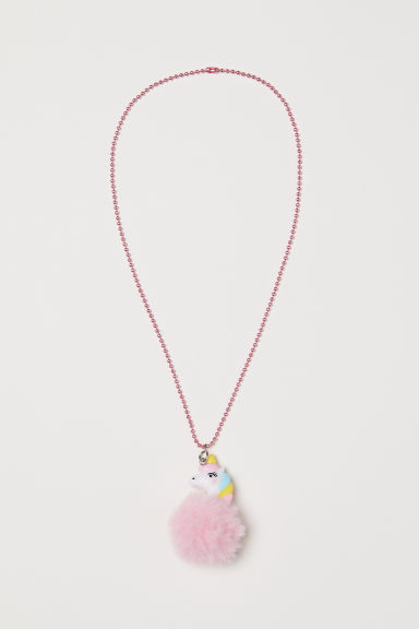 Necklace with pendants - Light pink - Kids | H&M