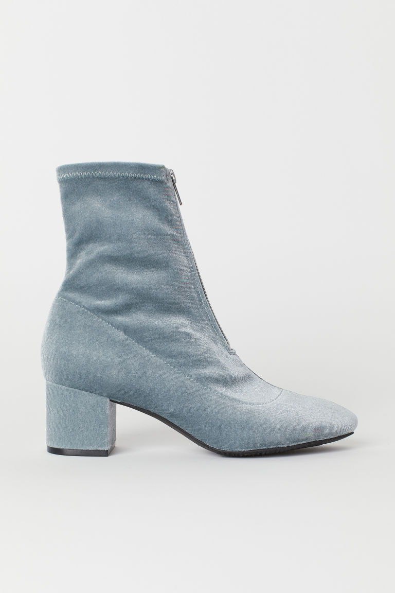 Bottines-chaussettes - Turquoise -  | H&M FR