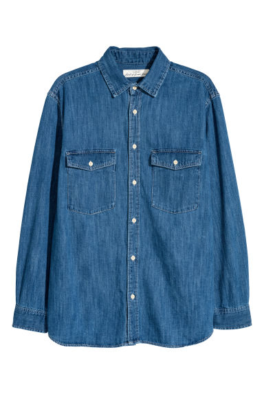 Denim shirt - Denim blue - Men | H&M