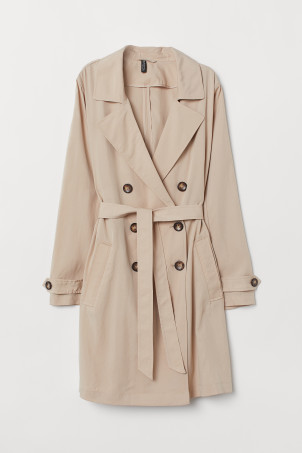 Lightweight trenchcoat