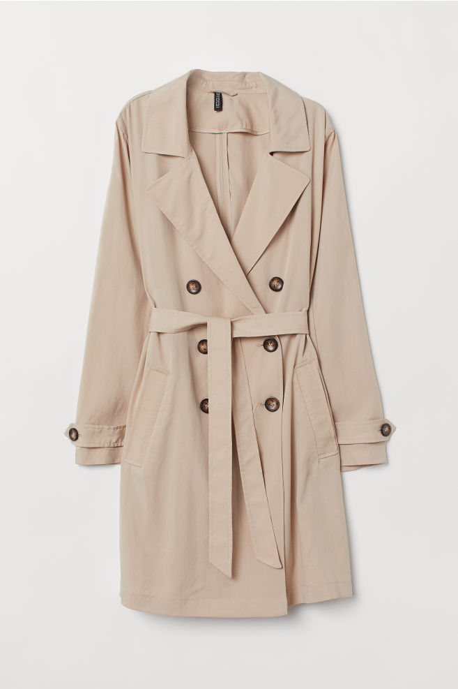 960efbe5f94e9 ... Lightweight Trenchcoat - Beige - | H&M ...