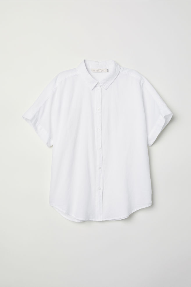 4ce67e7735 Short-sleeved Cotton Shirt