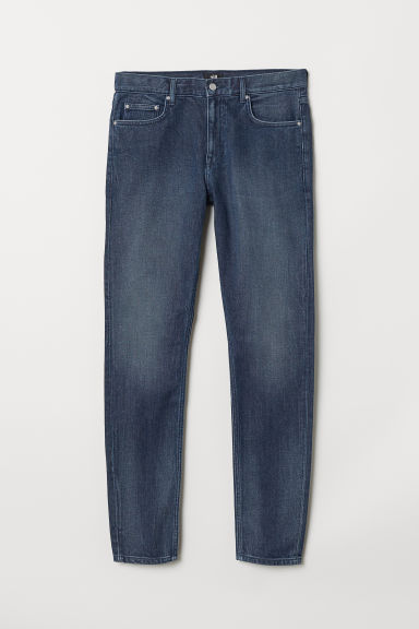Skinny Fit Jeans - Denim blu scuro - UOMO | H&M IT