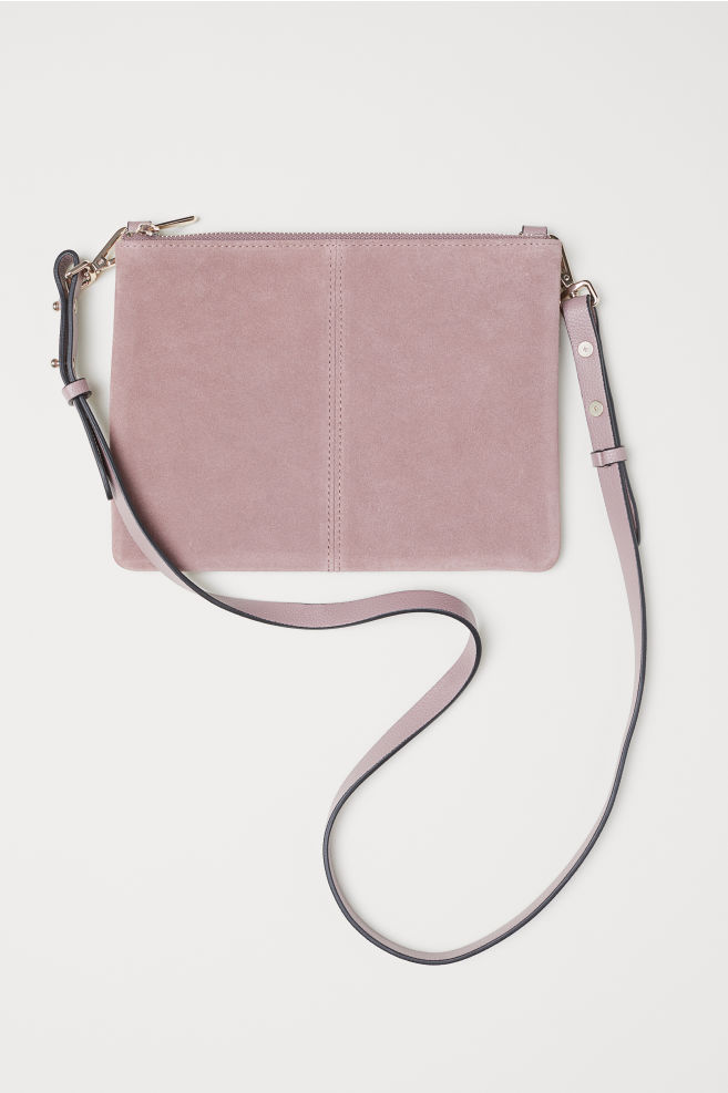 b168c891c5f0 Small Bag with Suede Details - Dark pink - Ladies