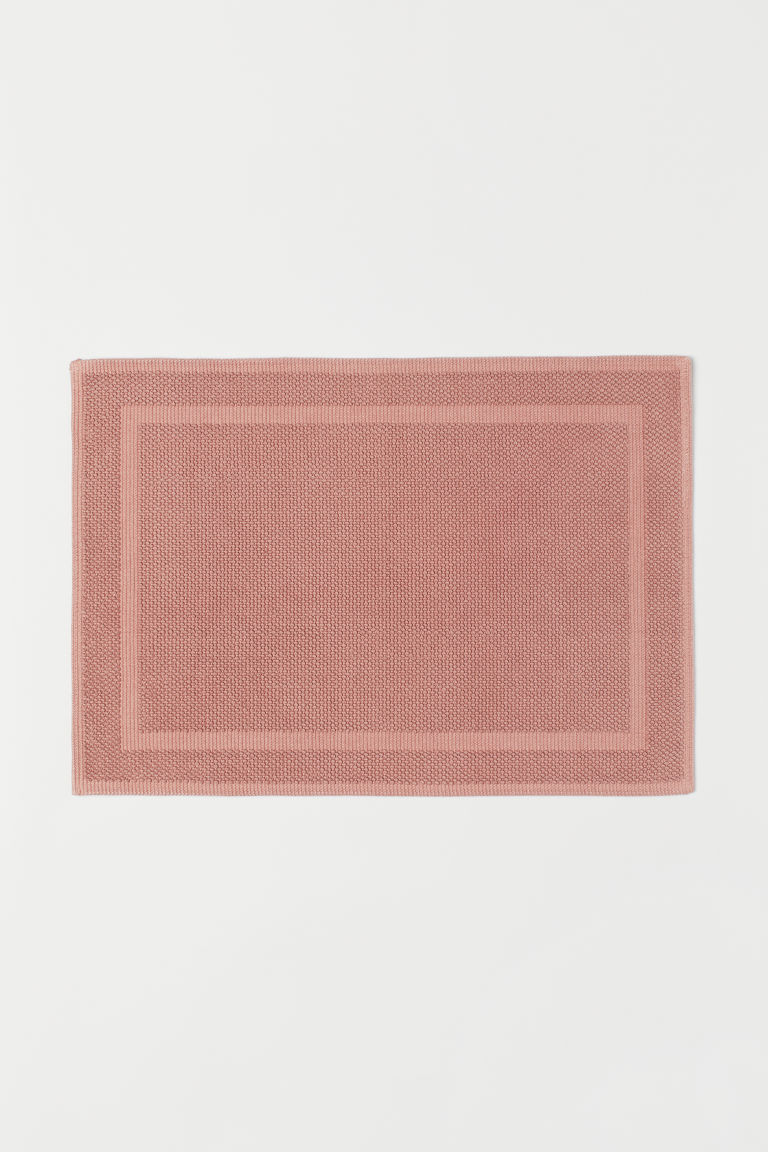 Bath mat - Old rose - Home All | H&M CN