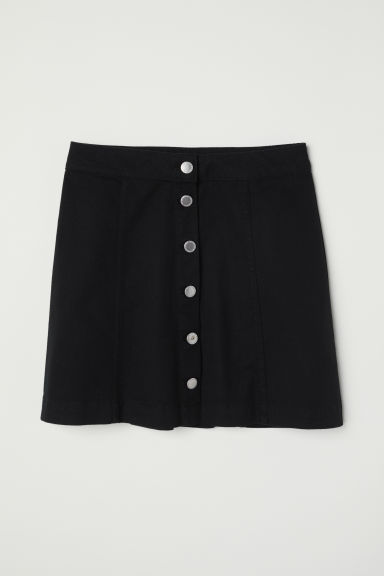 Short skirt - Black -  | H&M