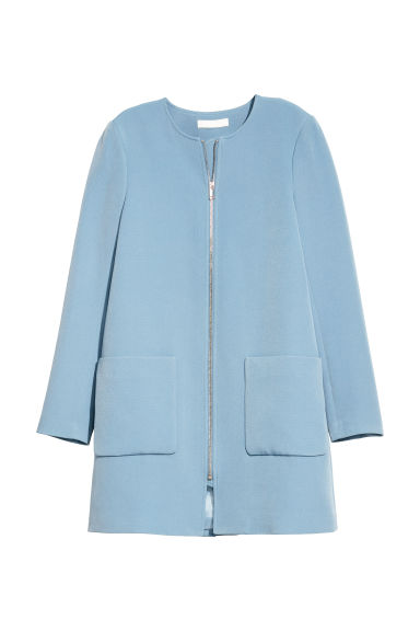 Short coat - Light blue -  | H&M