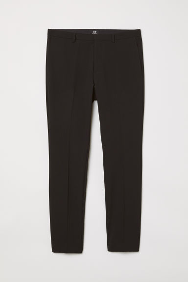 Suit trousers Super skinny fit - Black - Men | H&M
