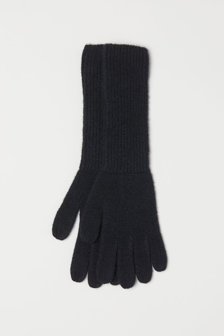 cipő olcsó részletes megjelenés több kép Kasmírkeverék kesztyű - Fekete - NŐI   H&M HU