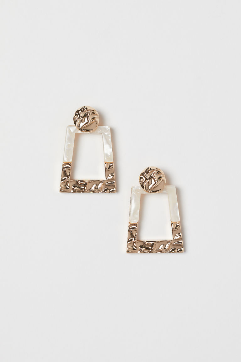 Large Earrings - Gold-colored -  | H&M US