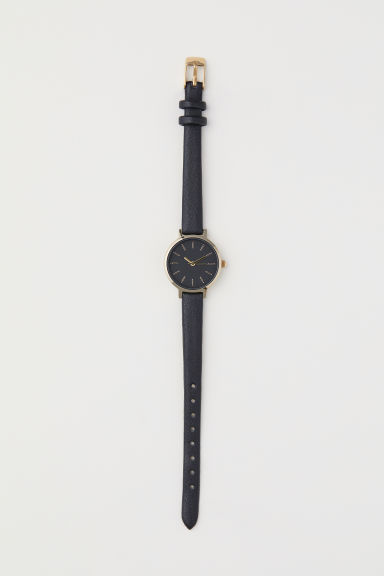 Watch - Black/Gold-coloured - Ladies | H&M CN