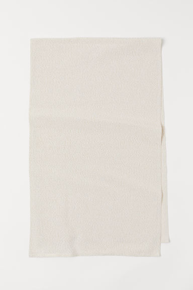 Glittery table runner - White/Glittery - Home All | H&M CN