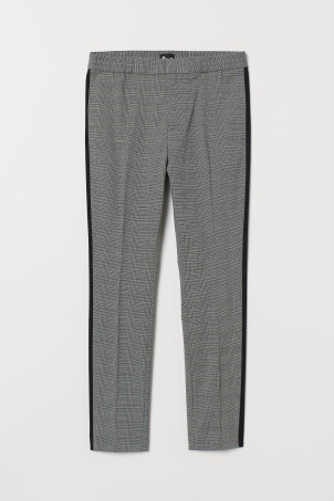 Side-striped suit trousersModel
