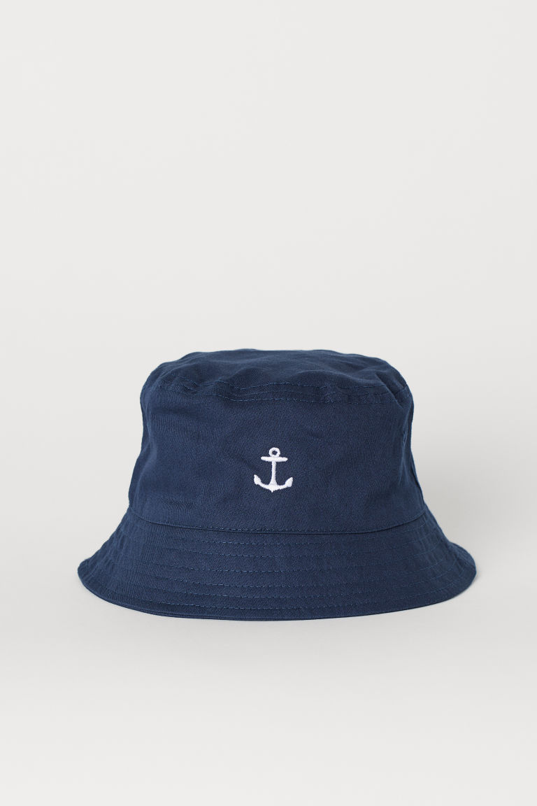 Fisherman's hat - Dark blue - Kids | H&M GB