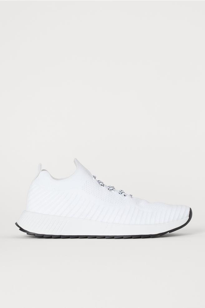 16181df37215 Formázott tornacipő - Fehér - FÉRFI | H&M ...