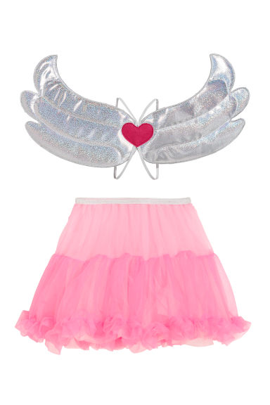 Fancy dress set - Pink/Silver-coloured - Kids | H&M