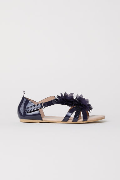 Sandali - Blu scuro -  | H&M IT
