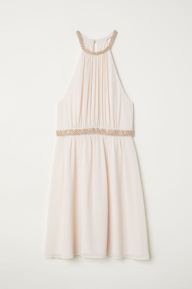 Short dress - Light beige - Ladies | H&M