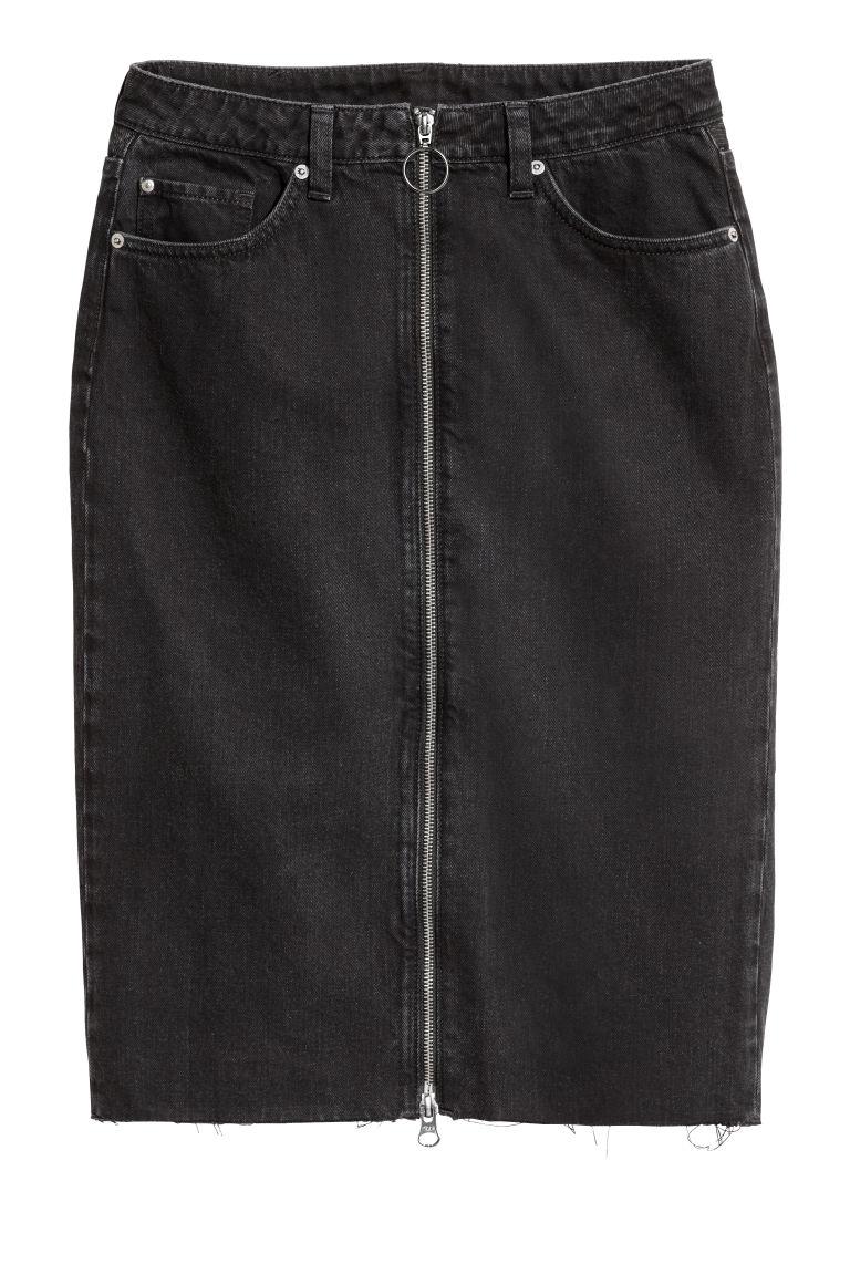 nuovo elenco nuova alta qualità migliori marche Gonna in jeans con cerniera