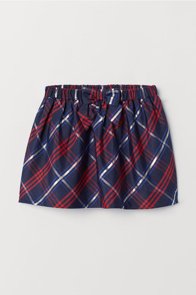 c280fe5ba12 Plaid Skirt - Dark blue plaid - Kids