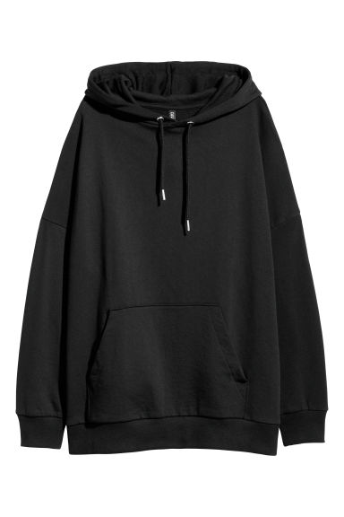 Hooded top - Black -  | H&M IE