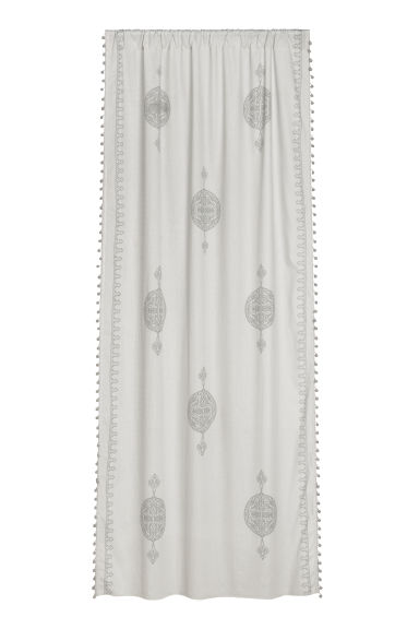 2-pack curtain lengths - Light grey - Home All | H&M CN