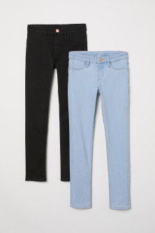 Skinny Fit Jeans 2本セット