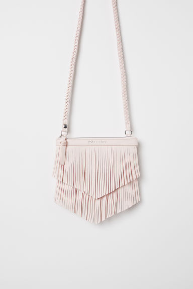 Shoulder bag with fringing - Light pink - Kids | H&M CN