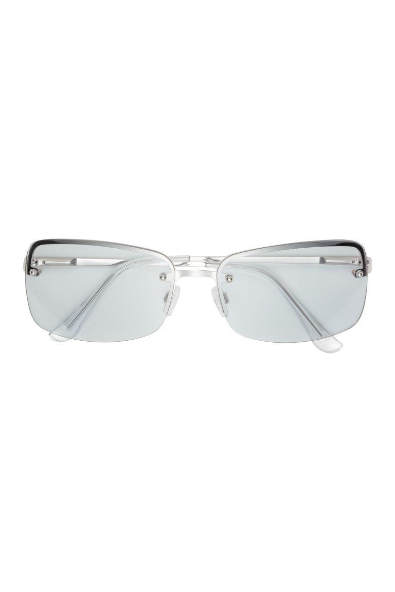 lunettes de soleil gris femme h m fr. Black Bedroom Furniture Sets. Home Design Ideas