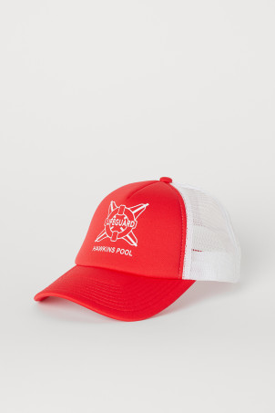 Cap with Printed Design