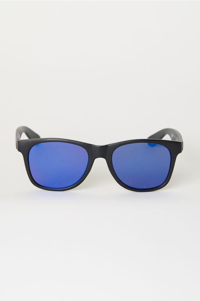 legújabb kollekció részletek a eladó kiskereskedő Napszemüveg - Fekete/kék - FÉRFI | H&M HU