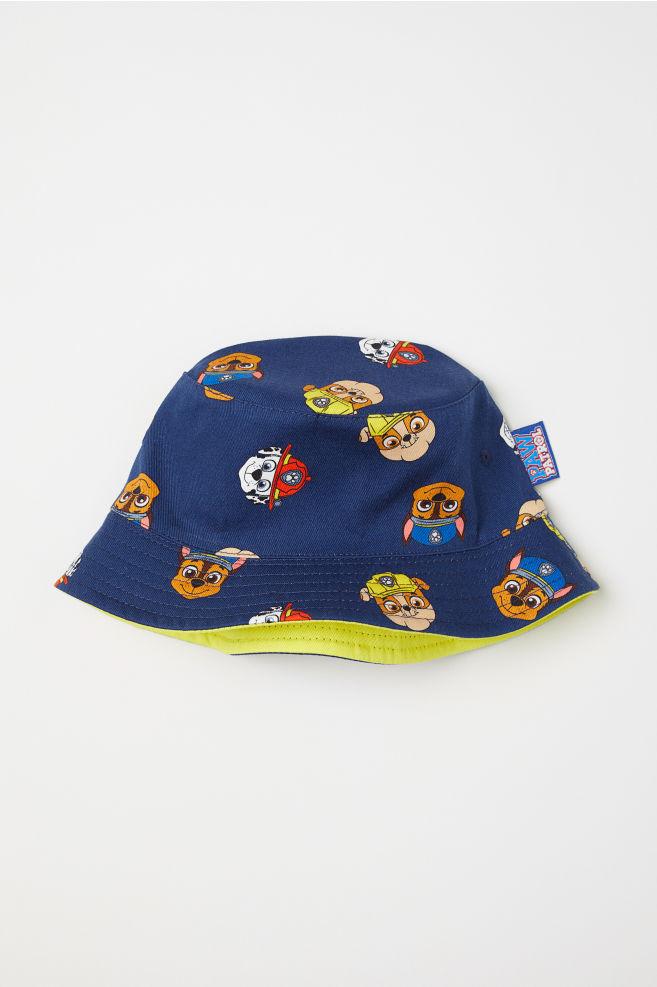 b54ca0eb2922d Patterned fisherman s hat - Dark blue Paw Patrol - Kids
