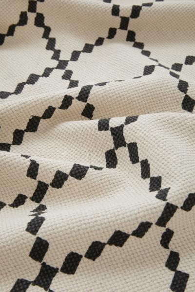 H&M - Alfombra de algodón estampada - 3