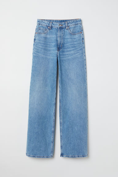 Wide Regular Jeans - Azul denim -  | H&M ES