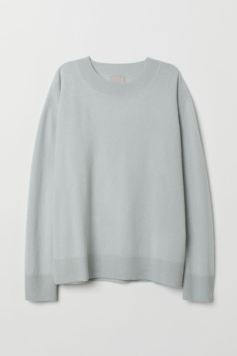 Pullover in cashmere - Verde menta - DONNA | H&M IT