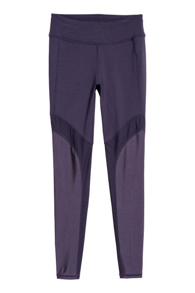 Sports tights - Purple - Ladies | H&M CN