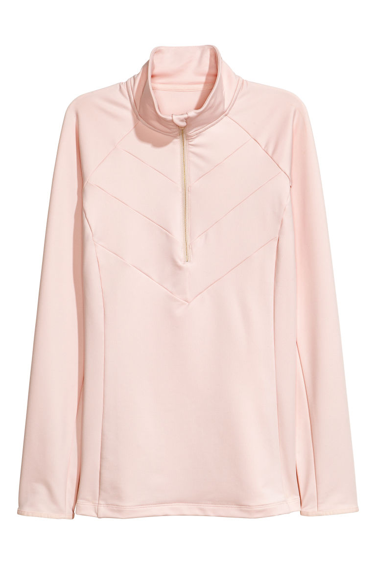 Sports top - Powder pink - Ladies | H&M CN