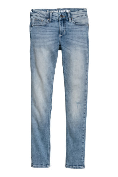 Supreme Stretch Skinny Jeans - Light denim blue -  | H&M