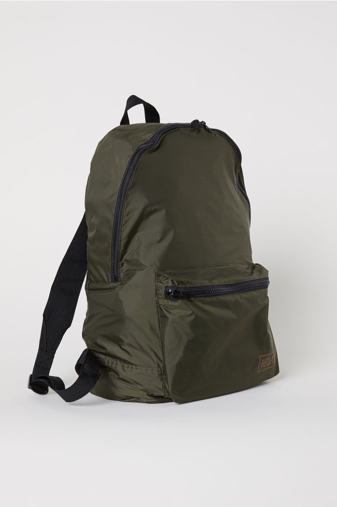 ... Hopfällbar ryggsäck - Mörkgrön - HERR  4005a8eb1d0ac