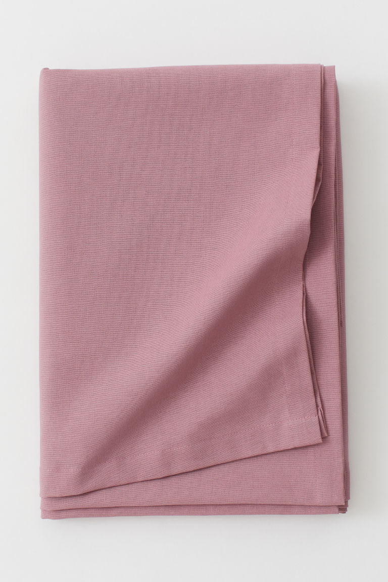 Cotton tablecloth - Dark pink - Home All | H&M GB