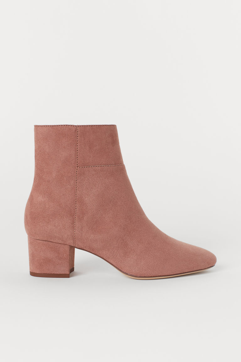 Ankle boots - Old rose - Ladies | H&M CN