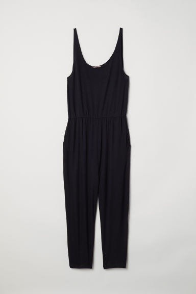 H&M+ Sleeveless jumpsuit - Black - Ladies | H&M