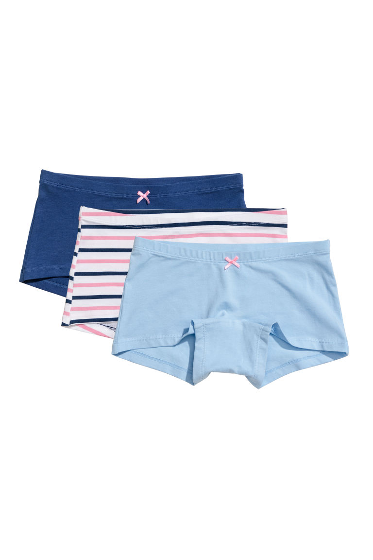 3-pack boxer briefs - Light blue - Kids | H&M