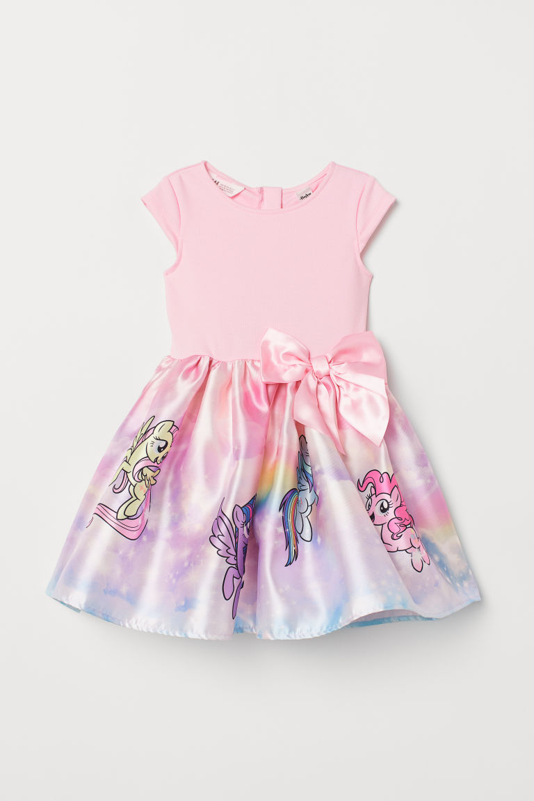 Abito con gonna svasata - Rosa chiaro/My Little Pony - BAMBINO | H&M IT
