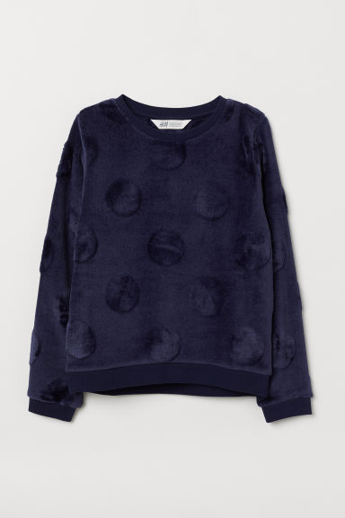 Sweatshirt - Dark blue - Kids | H&M