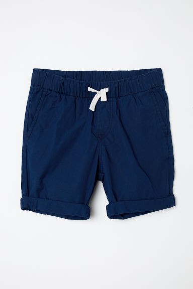 Cotton shorts - Dark blue - Kids | H&M