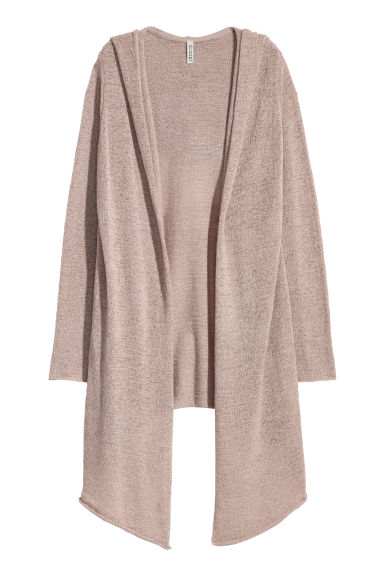 Hooded cardigan - Mole - Ladies | H&M GB