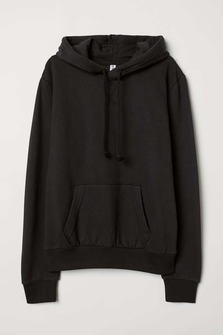 Hooded top - Black - Ladies | H&M