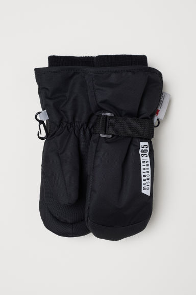 Ski mittens - Black - Kids | H&M