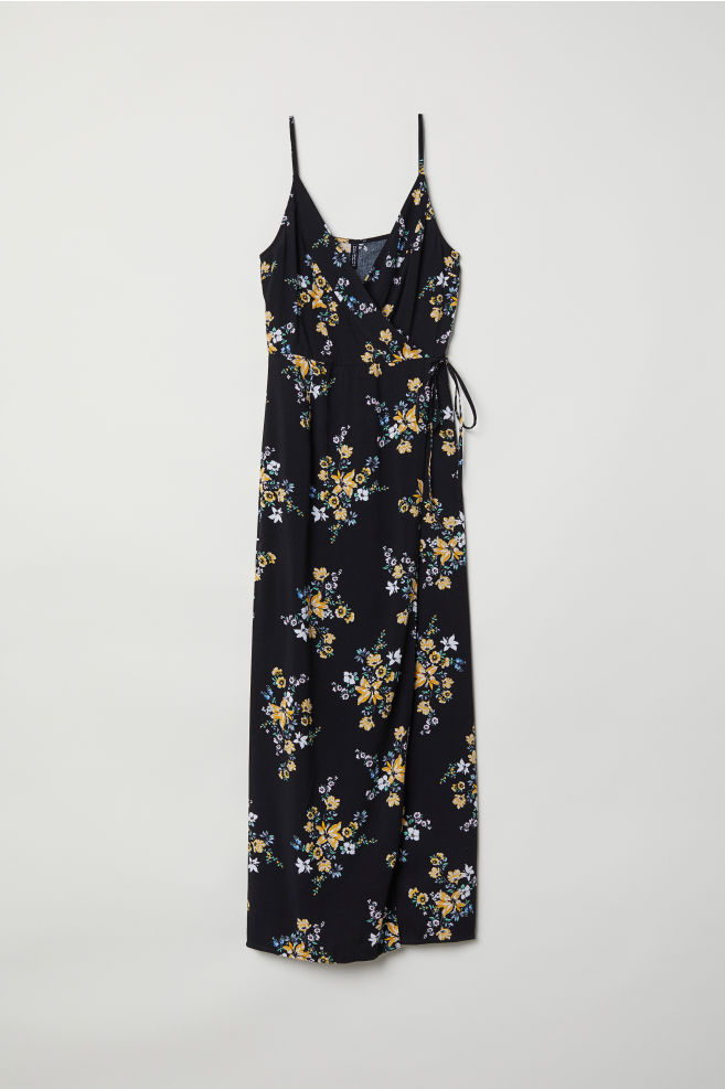 Maxi Dress Blackfloral Ladies Hm Us